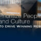 How to Prioritize People and Culture to Drive Winning Results