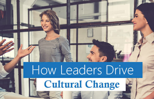 Team collaboration as part of a cultural change