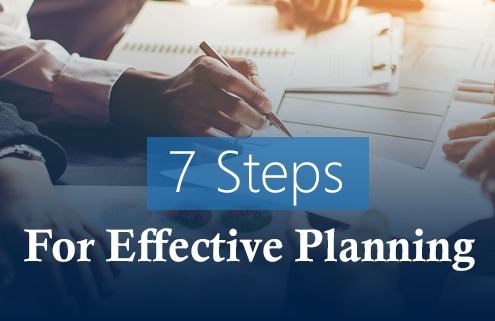 7 Steps for Effective Planning