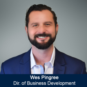 Wes Pingree - Dir of Business Development