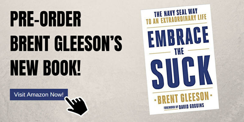 Brent Gleeson's Book 'Embrace the Suck is available to pre-order