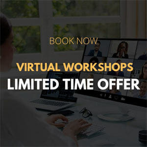 Book Now - Virtual Workshops Limited Time Offer 300x300